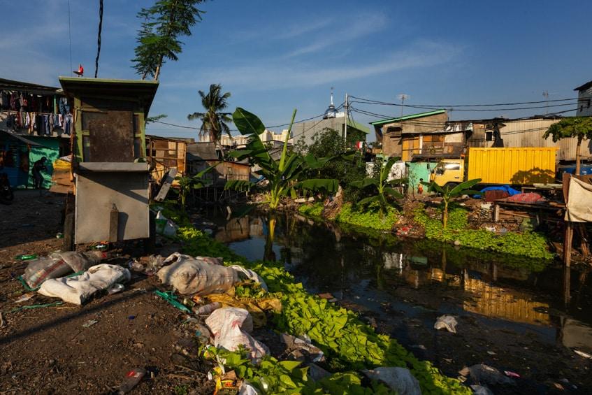 a slum of Jakarta
