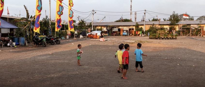 slum houses