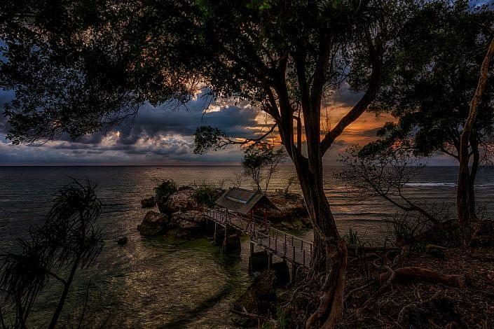 sunrise on Sulawesi