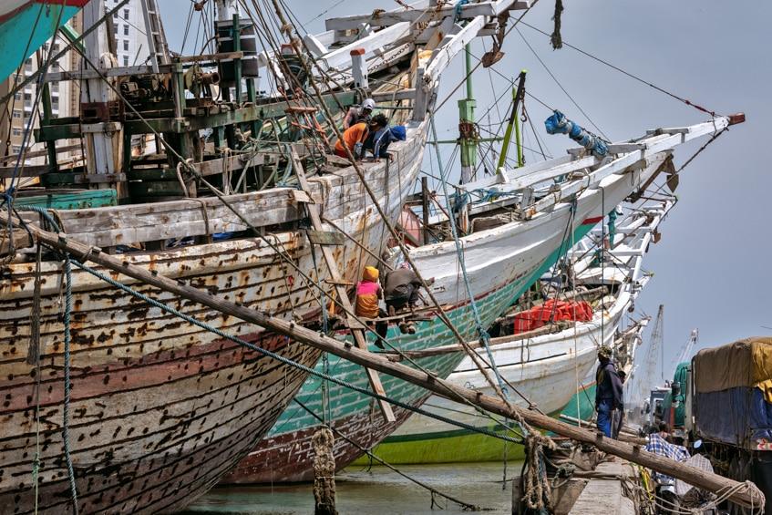 Pinisi Ships