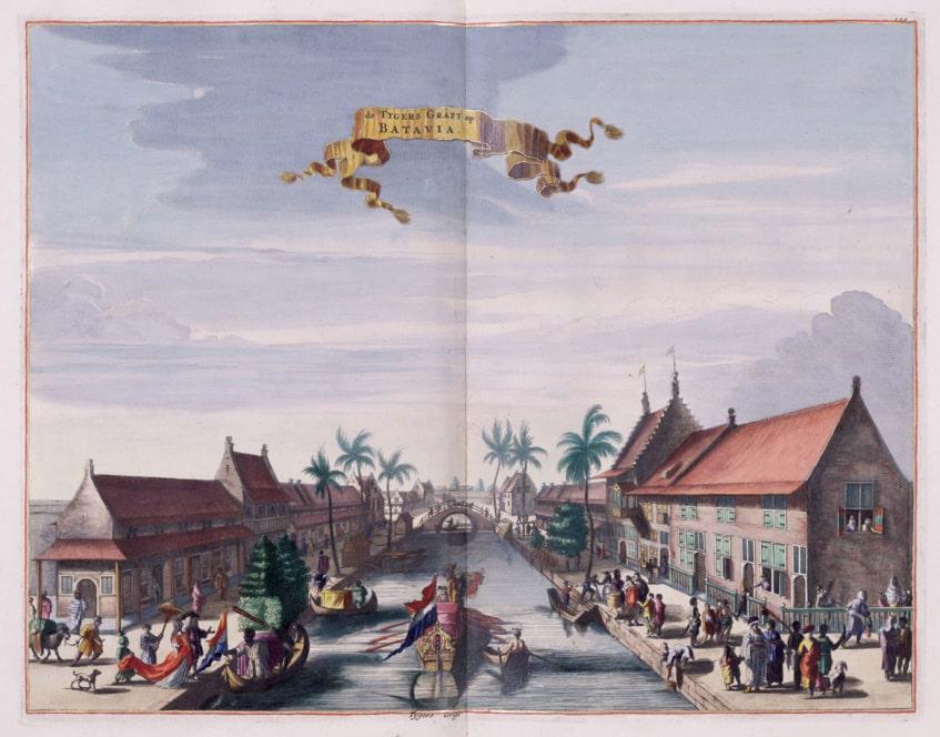 old image of Batavia