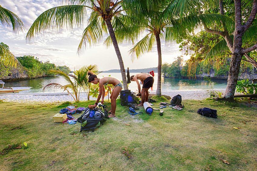 Paradise camping at Poya Lisa Resort