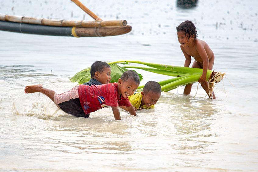 children's water fun