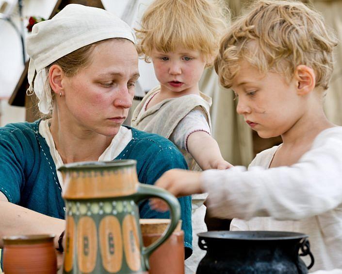medieval family jpg