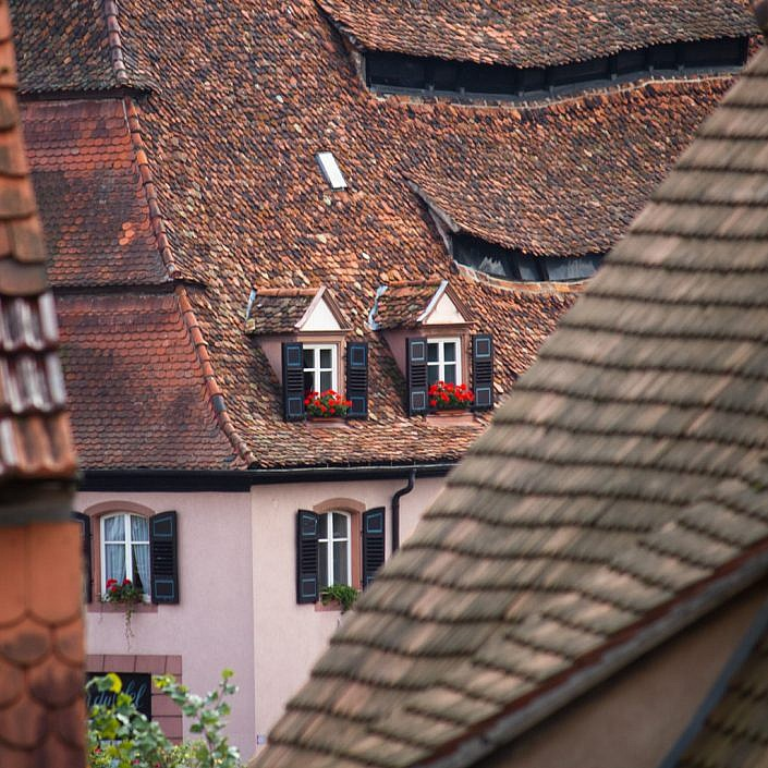 roofs of Wissembourg, Alsace jpg