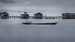Bajau houses