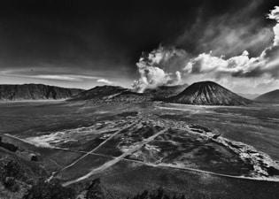 Caldera of Mt. Bromo