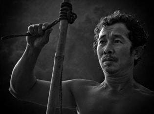 fisherman, Laos