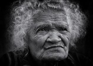 Old Ngada woman