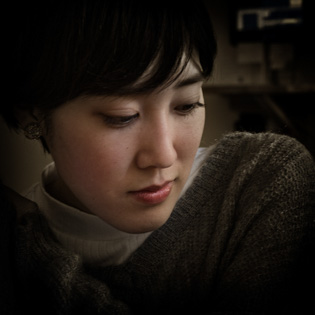 Japanese young woman