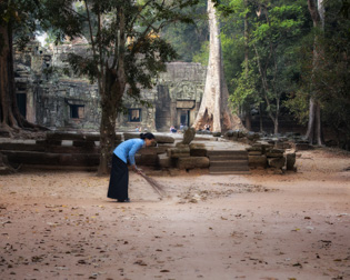 Ta Prohm temple 1